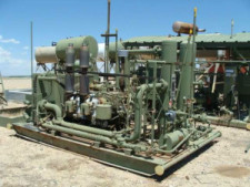 REDUCED ARIEL JGS32 TWO STAGE NATURAL GAS COMPRESSOR FOR