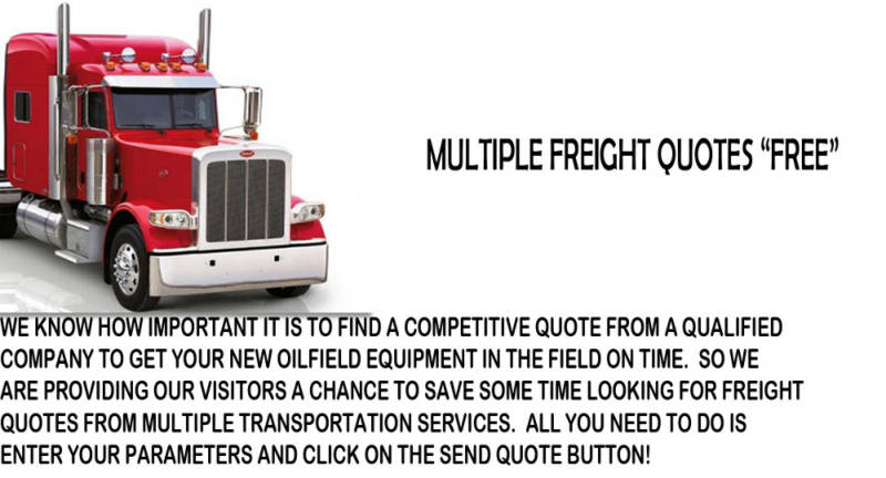 Receive multiple quotes with one click for all your Oilfield