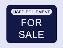 EQUIPMENT FOR SALE SIGN