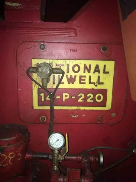 14P220 pump label