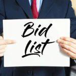 Bid Lists