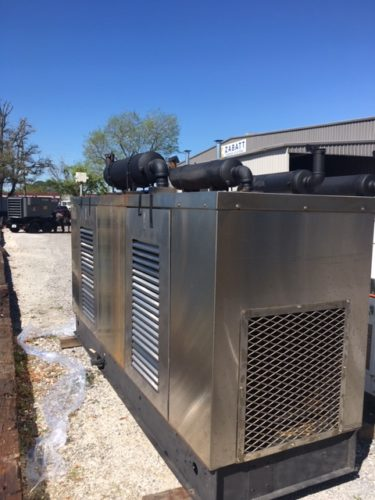80kw Olympian Natural Gas Generator Set w/Stainless