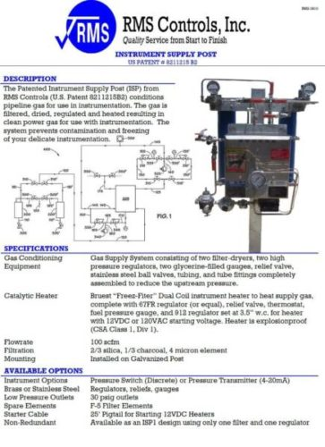 RMS Instrument Gas Condition System (Pic7)