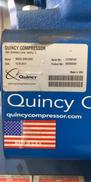 Quincy tag